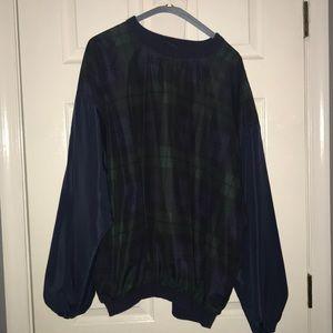Green Plaid Sweater
